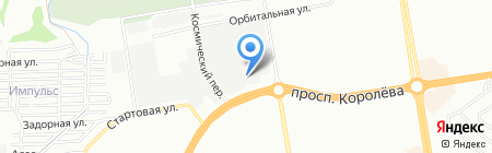 Транссервис-Ростов на карте Ростова-на-Дону
