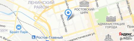 ЭТА-ЭЛЬ на карте Ростова-на-Дону