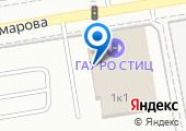 Ростовский областной теннисный центр на карте