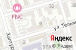 Схема проезда до компании Fit to Print в Ростове-на-Дону