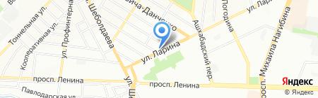 Первая Кровельная на карте Ростова-на-Дону
