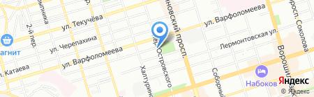 Детская художественная школа им. Чиненовых на карте Ростова-на-Дону