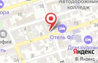 Схема проезда до компании Алгарит в Ростове-На-Дону