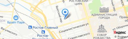 ПМ-Секьюрити на карте Ростова-на-Дону