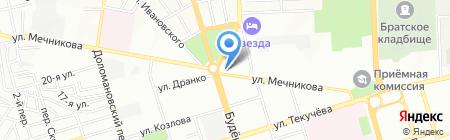 Ростовчанка на карте Ростова-на-Дону