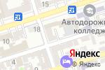 Схема проезда до компании Адвокат Якименко Ю.В. в Ростове-на-Дону