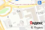 Схема проезда до компании Интер Право в Ростове-на-Дону