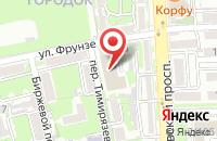 Схема проезда до компании Энергетическая Экспертиза в Ростове-На-Дону