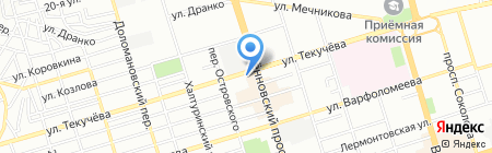 Квадратный метр на карте Ростова-на-Дону