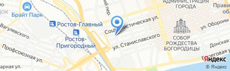 Правда на карте Ростова-на-Дону