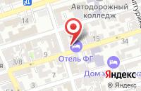 Схема проезда до компании Севкавэнергомонтаж в Ростове-На-Дону