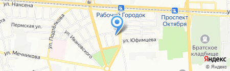 Темп на карте Ростова-на-Дону