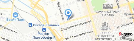 Волшебный сундучок на карте Ростова-на-Дону