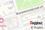Схема проезда до компании Приоритет права в Ростове-на-Дону