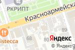 Схема проезда до компании Адвокатский кабинет Куценко Т.А. в Ростове-на-Дону