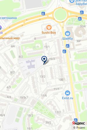 АЗС АЛК на карте Шахт