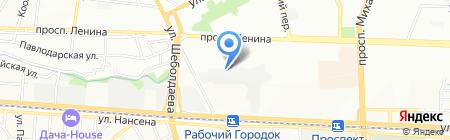 Тонировка-Ростов на карте Ростова-на-Дону