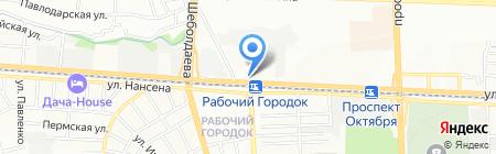 Вселенная здоровья на карте Ростова-на-Дону
