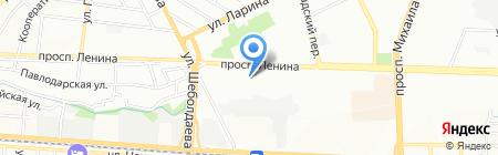 Праймус на карте Ростова-на-Дону