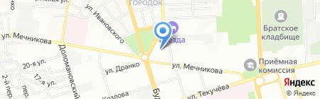Детский сад №3 на карте Ростова-на-Дону