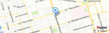 Мариам на карте Ростова-на-Дону