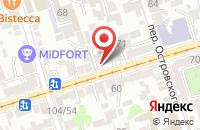 Схема проезда до компании Кондорион 1 в Ростове-На-Дону