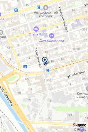 РОСТОВСКИЙ ФИЛИАЛ ВОЕННО-СТРАХОВАЯ КОМПАНИЯ на карте Новочеркасска