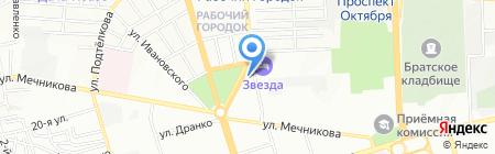 Баклажан на карте Ростова-на-Дону