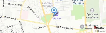 Евро-Альянс Юг на карте Ростова-на-Дону
