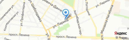 Аптека №14 на карте Ростова-на-Дону