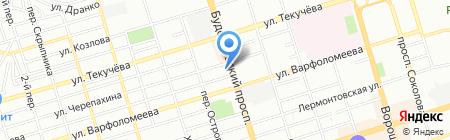Ростов-Елена-Тур на карте Ростова-на-Дону