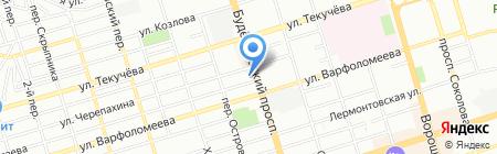 ДОМЗАВОД на карте Ростова-на-Дону