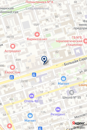 ТФ МЕЖРЕГИОНТОПСБЫТ на карте Шахт