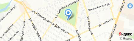 Арго на карте Ростова-на-Дону
