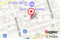 Схема проезда до компании Наследие в Ростове-На-Дону