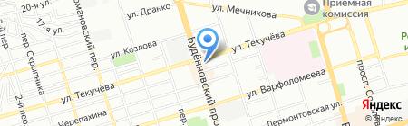 Apple-Room №2 на карте Ростова-на-Дону