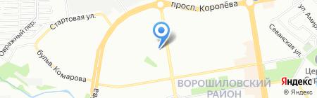 Нотариус Доценко И.Н. на карте Ростова-на-Дону