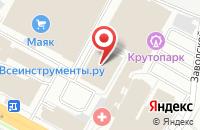 Схема проезда до компании Centrsvet.ru в Рязани