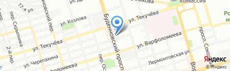 Регионспецмонтаж на карте Ростова-на-Дону