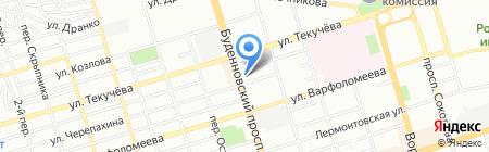 Банкомат АКБ РосЕвроБанк на карте Ростова-на-Дону