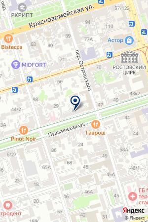 ПОЖАРНАЯ ЧАСТ №124 на карте Новочеркасска