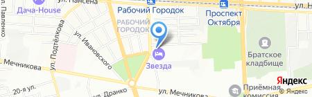 Форсайт на карте Ростова-на-Дону