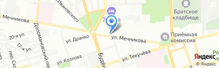 Кун Суэй на карте Ростова-на-Дону