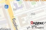 Схема проезда до компании Магазин канцелярских товаров в Ростове-на-Дону