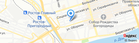 СЕВКАВИНСТРОЙПРОЕКТ на карте Ростова-на-Дону