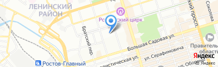 Феникс-Инвест на карте Ростова-на-Дону