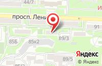 Схема проезда до компании ТОВАРИЩ в Николаевке