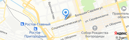 Даная на карте Ростова-на-Дону