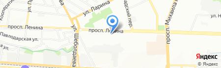 Прелюдия на карте Ростова-на-Дону
