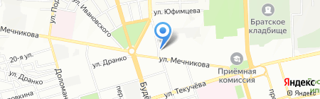 Золотой Слон на карте Ростова-на-Дону